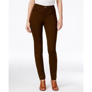Style & Co Curvy-Fit Skinny Fashion Jeans